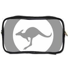 Low Visibility Roundel Of The Australian Air Force Toiletries Bags by abbeyz71