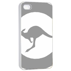 Low Visibility Roundel Of The Australian Air Force Apple Iphone 4/4s Seamless Case (white) by abbeyz71