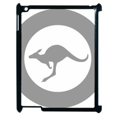 Low Visibility Roundel Of The Australian Air Force Apple Ipad 2 Case (black) by abbeyz71