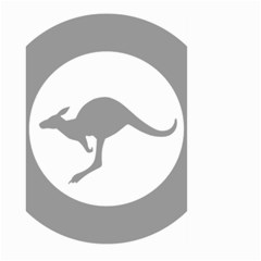 Low Visibility Roundel Of The Australian Air Force Large Garden Flag (two Sides) by abbeyz71