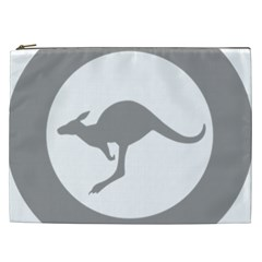 Low Visibility Roundel Of The Australian Air Force Cosmetic Bag (xxl)  by abbeyz71