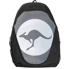Low Visibility Roundel Of The Australian Air Force Backpack Bag by abbeyz71