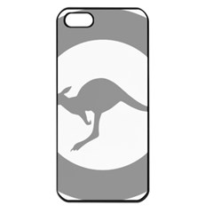 Low Visibility Roundel Of The Australian Air Force Apple Iphone 5 Seamless Case (black) by abbeyz71