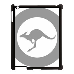 Low Visibility Roundel Of The Australian Air Force Apple Ipad 3/4 Case (black) by abbeyz71