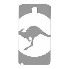 Low Visibility Roundel Of The Australian Air Force Samsung Galaxy Note 3 N9005 Hardshell Back Case by abbeyz71