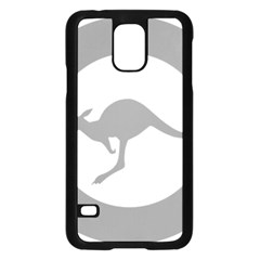 Low Visibility Roundel Of The Australian Air Force Samsung Galaxy S5 Case (black) by abbeyz71