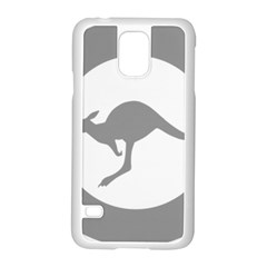 Low Visibility Roundel Of The Australian Air Force Samsung Galaxy S5 Case (white) by abbeyz71