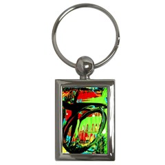 Quiet Place Key Chains (rectangle)  by bestdesignintheworld