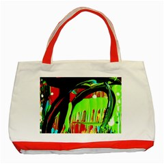 Quiet Place Classic Tote Bag (red)