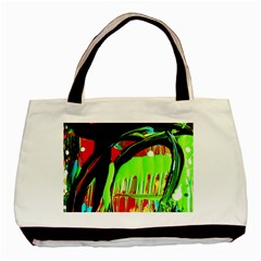 Quiet Place Basic Tote Bag (two Sides) by bestdesignintheworld