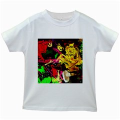 Spooky Attick 1 Kids White T Shirts