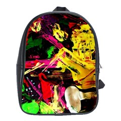 Spooky Attick 1 School Bag (large)