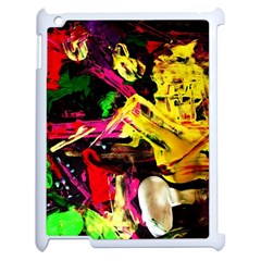 Spooky Attick 1 Apple Ipad 2 Case (white)