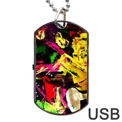Spooky Attick 1 Dog Tag Usb Flash (two Sides)