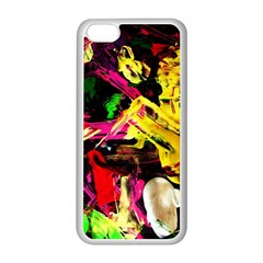 Spooky Attick 1 Apple Iphone 5c Seamless Case (white)