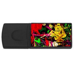 Spooky Attick 1 Rectangular Usb Flash Drive by bestdesignintheworld