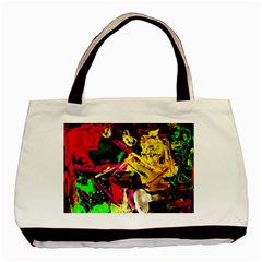 Spooky Attick 1 Basic Tote Bag (two Sides)