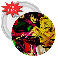 Spooky Attick 1 3  Buttons (10 Pack)