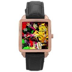 Spooky Attick 1 Rose Gold Leather Watch
