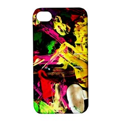 Spooky Attick 1 Apple Iphone 4/4s Hardshell Case With Stand