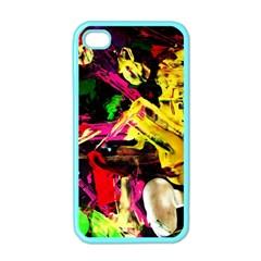 Spooky Attick 1 Apple Iphone 4 Case (color)