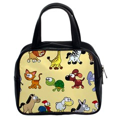 Group Of Animals Graphic Classic Handbags (2 Sides) by Sapixe