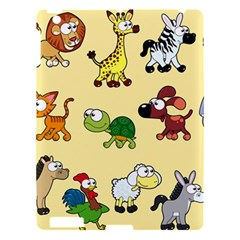 Group Of Animals Graphic Apple Ipad 3/4 Hardshell Case by Sapixe