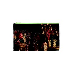 Holiday Lights Christmas Yard Decorations Cosmetic Bag (xs) by Sapixe