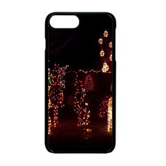 Holiday Lights Christmas Yard Decorations Apple Iphone 7 Plus Seamless Case (black) by Sapixe