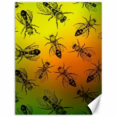 Insect Pattern Canvas 12  X 16   by Sapixe
