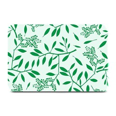 Leaves Foliage Green Wallpaper Plate Mats by Sapixe