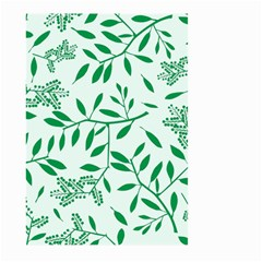 Leaves Foliage Green Wallpaper Large Garden Flag (two Sides) by Sapixe