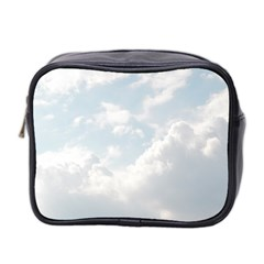 Light Nature Sky Sunny Clouds Mini Toiletries Bag 2 Side by Sapixe