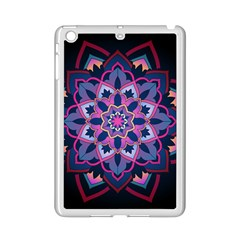 Mandala Circular Pattern Ipad Mini 2 Enamel Coated Cases by Sapixe