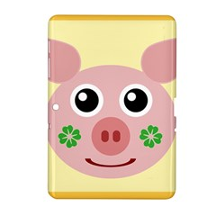 Luck Lucky Pig Pig Lucky Charm Samsung Galaxy Tab 2 (10 1 ) P5100 Hardshell Case  by Sapixe