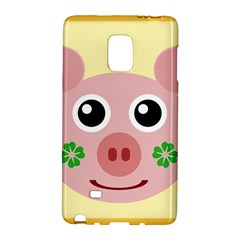 Luck Lucky Pig Pig Lucky Charm Galaxy Note Edge by Sapixe