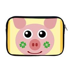 Luck Lucky Pig Pig Lucky Charm Apple Macbook Pro 17  Zipper Case by Sapixe