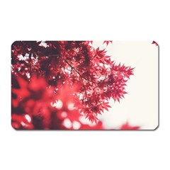 Maple Leaves Red Autumn Fall Magnet (rectangular) by Sapixe