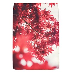 Maple Leaves Red Autumn Fall Flap Covers (s)  by Sapixe