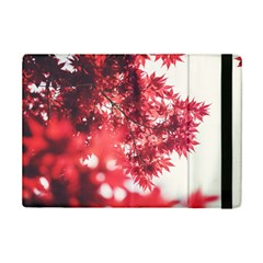 Maple Leaves Red Autumn Fall Ipad Mini 2 Flip Cases by Sapixe