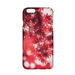 Maple Leaves Red Autumn Fall Apple Iphone 6/6s Hardshell Case by Sapixe