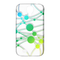 Network Connection Structure Knot Samsung Galaxy S4 Classic Hardshell Case (pc+silicone)