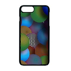 Multicolored Patterned Spheres 3d Apple Iphone 7 Plus Seamless Case (black) by Sapixe
