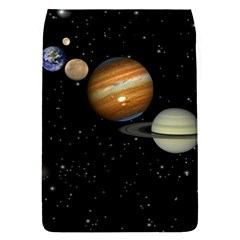 Outer Space Planets Solar System Flap Covers (s)  by Sapixe