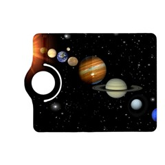 Outer Space Planets Solar System Kindle Fire Hd (2013) Flip 360 Case by Sapixe