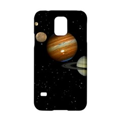 Outer Space Planets Solar System Samsung Galaxy S5 Hardshell Case  by Sapixe