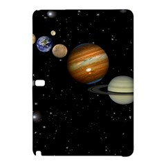 Outer Space Planets Solar System Samsung Galaxy Tab Pro 12 2 Hardshell Case by Sapixe