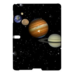 Outer Space Planets Solar System Samsung Galaxy Tab S (10 5 ) Hardshell Case  by Sapixe