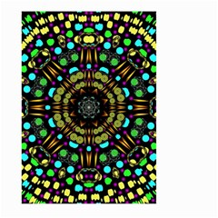 Liven Up In Love Light And Sun Large Garden Flag (two Sides) by pepitasart