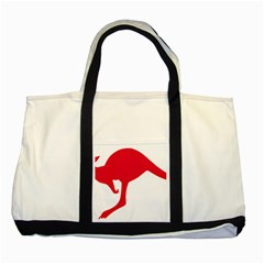 Australian Army Vehicle Insignia Two Tone Tote Bag
